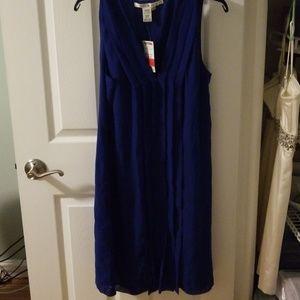 Royal blue max studio dress